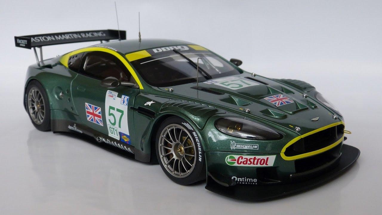 1 18 Autoart Aston Martin Dbr9 Sebring 2005 57 Youtube