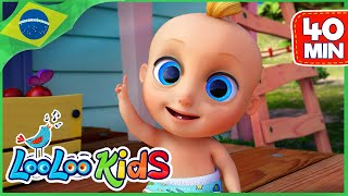 Um Dedinho - Música Infantil | LooLoo Kids Português