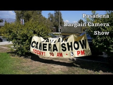 Bargain Camera Show In Pasadena To Buy & Sell Used Camera Equipment + Lenses / Photography Gear