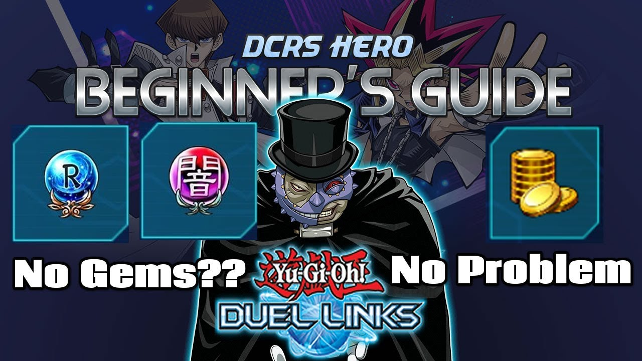 beginners guide yu gi duel links