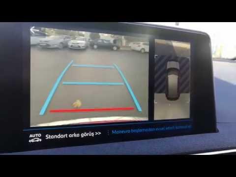 Yeni Peugeot 3008 P84 Görüntülü Park Yardımcısı Kamera Gündüz Kullanımı inceleme