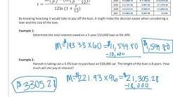 Length of Loan Formula