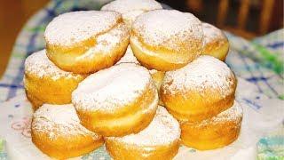 ПОСТНЫЕ ПОНЧИКИ. ВОЗДУШНЫЕ КАК ОБЛАКО.- How to make Donuts