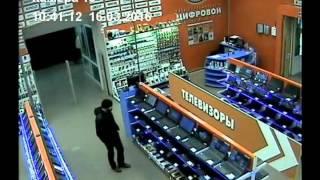 Кража ноутбука в магазине DNS г. Кыштым