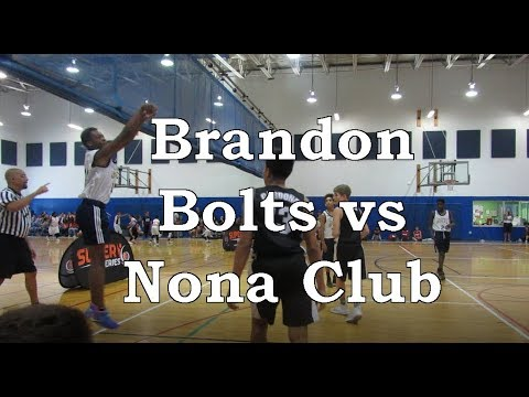Brandon Bolts vs Nona Club - Super 6 AAU Tournament, Clearwater FL