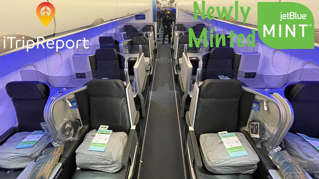 NEWLY MINTED The NEW JetBlue Mint Experience