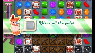 Candy Crush Saga Level 1145 walkthrough (no boosters)