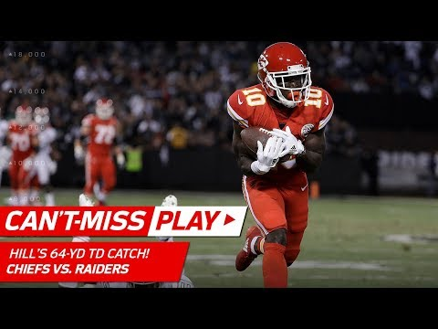 Alex Smith Leads KC 99 Yards in 3 Plays for a TD to Tyreek Hill! | Can