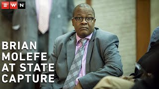 Former Eskom Group chief executive officer (CEO), Brian Molefe, returned to the state capture commission of inquiry on Tuesday to continue his testimony.