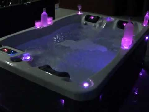 black diamond spas luxury hot tub spa led lights 2013