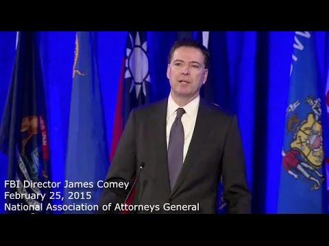 FBI Dir. James Comey, ISIS is a top priority.