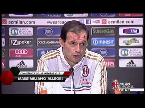 AC Milan I Allegri: 'L'allenatore è il responsabile' (with subtitles)