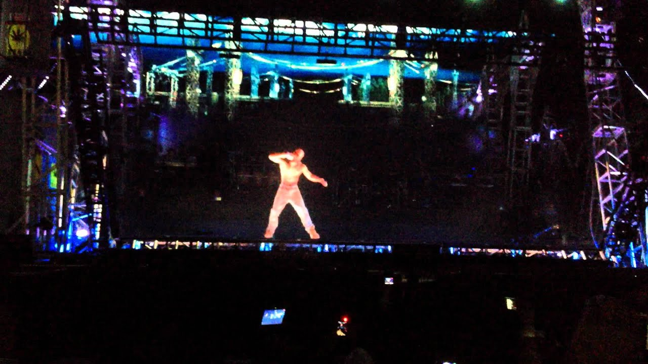 Tupac Hologram Hd 1080p Coachella 2012 Weekend 1 Youtube