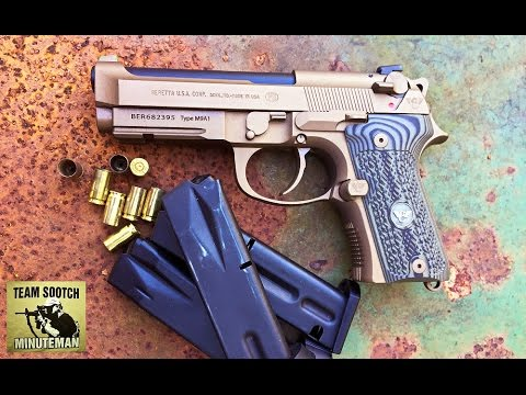 Wilson Combat Beretta 92 Custom Carry Review