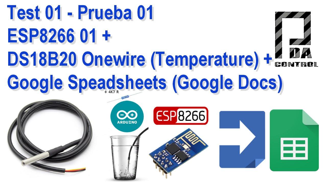 Send Email with ESP8266 (Google Docs) Google Script App +