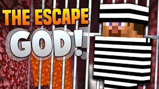 THE ESCAPE GOD! | Minecraft DRAGON ESCAPE #12 with PrestonPlayz