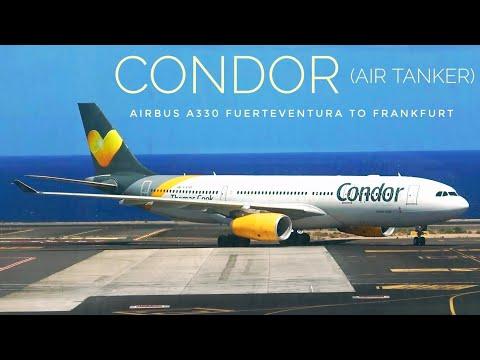 FLIGHT REVIEW - CONDOR XL-SEAT - Airbus A330 -  Fuerteventura to Frankfurt