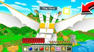 How to PLAY as THE KING DRAGON in Minecraft!