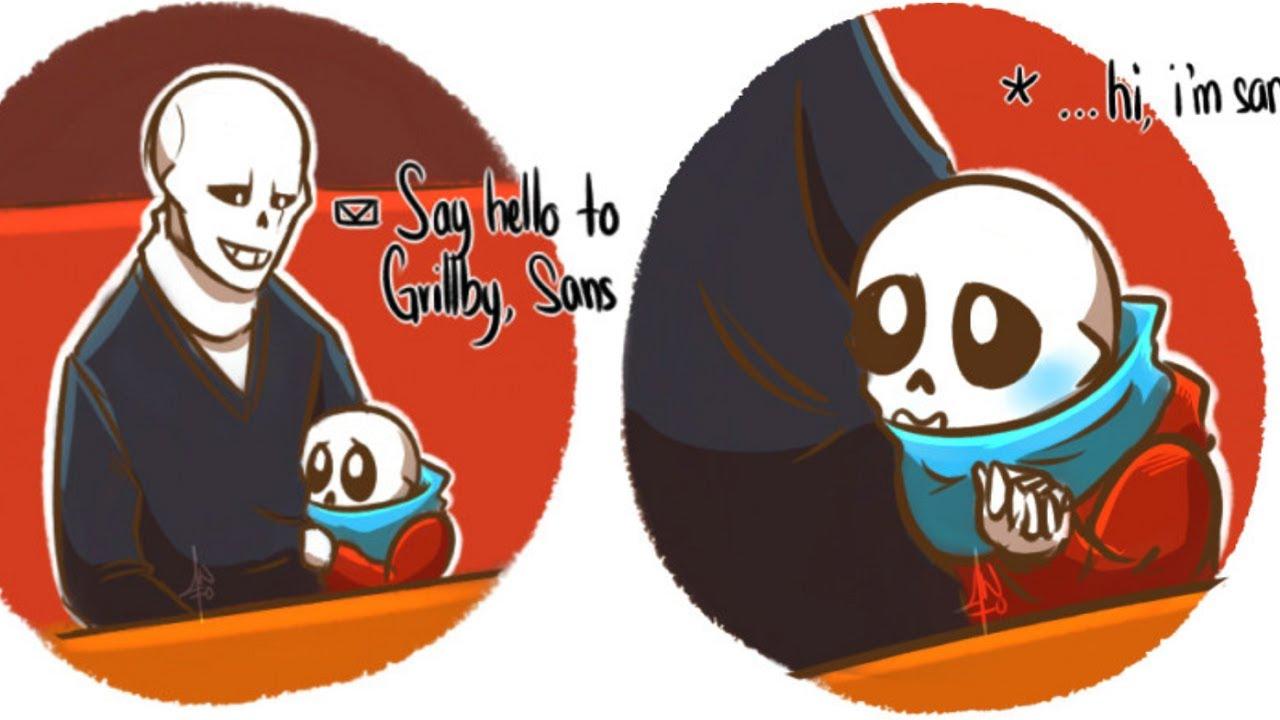 Sans Is A Good Son【 Undertale Comic Dub Compilation 】