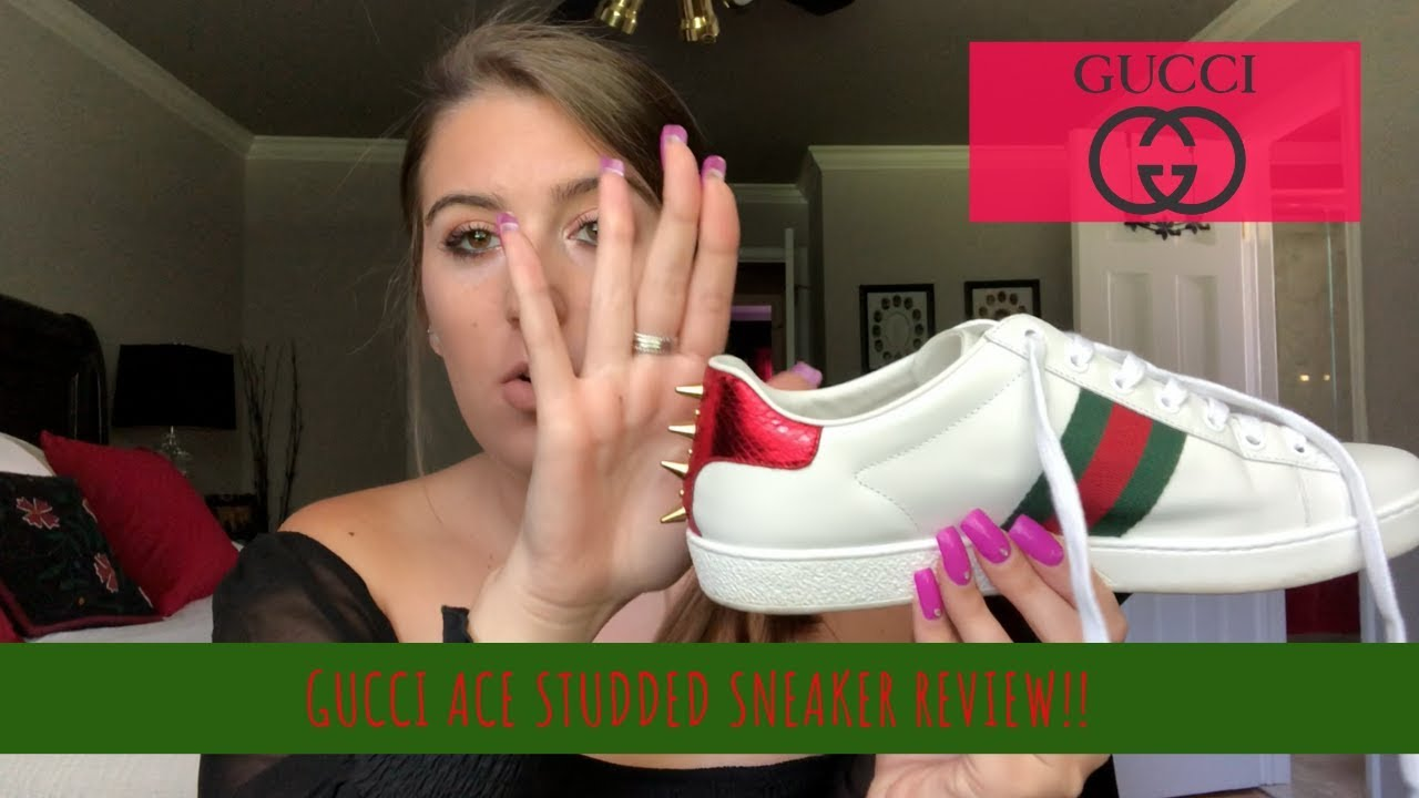 Gucci Ace Studded Sneaker Review