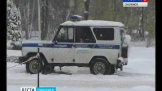 Смоленские полицейские задержали полуночного пиромана(, 2016-10-27T14:26:48.000Z)