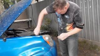 Pro покраску сколов и глубоких царапин. Кузовной ремонт.(Всем привет! 2-я часть видео, где я устраняю полученые при ДТП на парковке повреждения. Устранил проблему..., 2014-07-01T09:56:40.000Z)