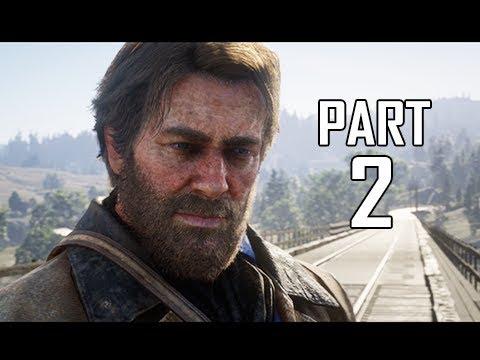 Red Dead Redemption 2 Walkthrough Gameplay Part 2 - Valentine City (RDR2 Let's Play)