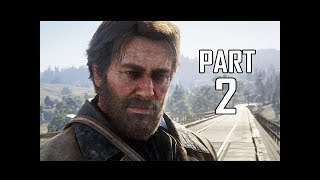 Red Dead Redemption 2 Walkthrough Gameplay Part 2 - Valentine City (RDR2 Let's Play)