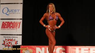2018 IFBB Pittsburgh Pro Sheena Jayne Martin 8th Place Stage Video