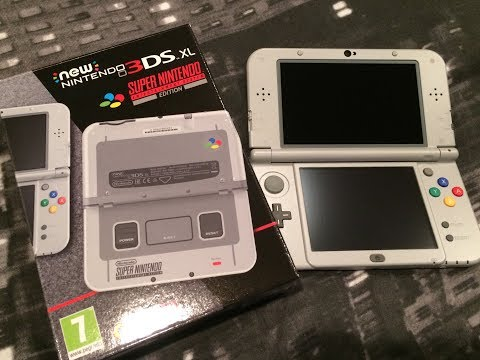 Unboxing the New Nintendo 3DS XL: SNES Edition