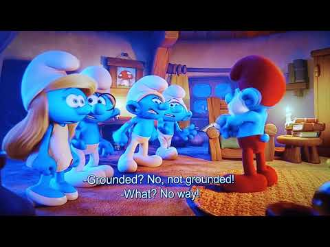 Smurfs The Lost Village (2017) You're Grounded! Scene