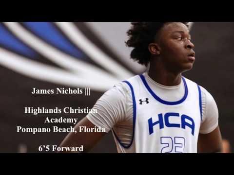 James Nichols Class of 2021 Highlands Christian Academy