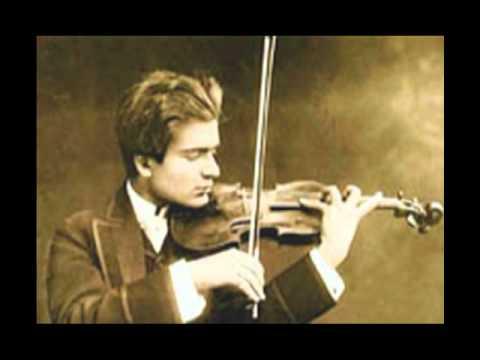 Schubert, Ave Maria - Bronislaw Huberman