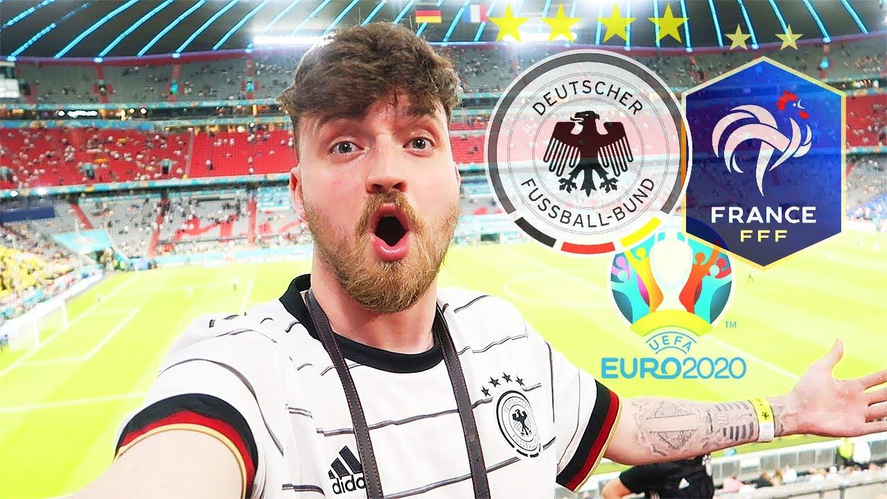 Deutschland vs. Frankreich - Stadionvlog 🇩🇪🇫🇷   Mbappé & Pogba einfach Weltklasse   ViscaBarca