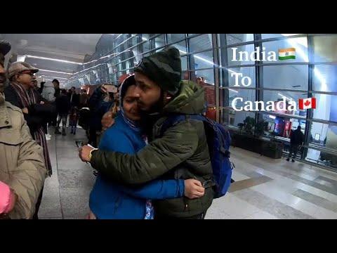 India To Canada | Delhi To Toronto | International Student
