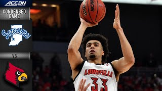 Indiana State vs. Louisville Condensed Game | ACC Men's Basketball 2019-20