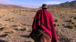 Argentine à cheval