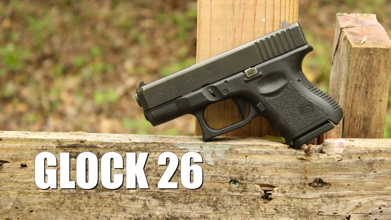 Glock 26 Gen 3 Review Youtube