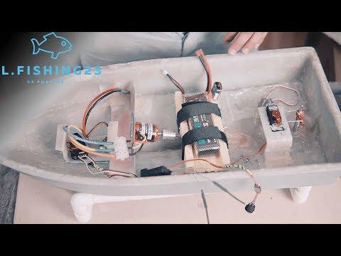 Что внутри самодельного карпового кораблика / Кораблик своими руками