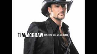 Tim McGraw - Blank Sheet of Paper. W/ Lyrics