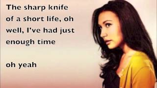 Repeat youtube video Glee - If I die young (lyrics)