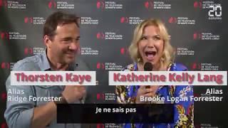 Katherine Kelly Lang & Thorsten Kaye in Monte Carlo 2018