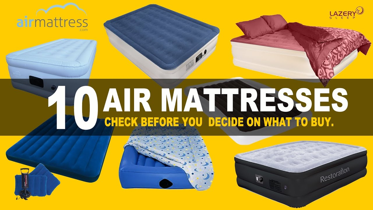 top 10 best air mattresses reviews best products