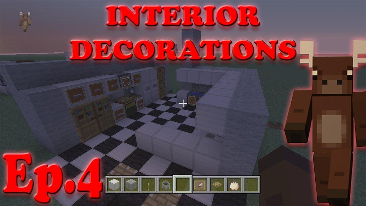 How To Make Kitchen Appliances In Minecraft