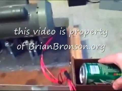 how to make a homemade can crusher