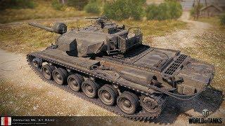 World of Tanks Centurion Mk. 5/1 RAAC стоит ли покупать?