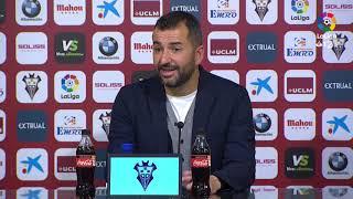 Rueda de prensa de Diego Martínez tras el Albacete BP vs Granada CF 0 1