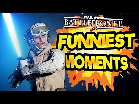 Star Wars Battlefront 2 Funny & Random Moments [FUNTAGE] - Funniest Moments So Far; Season 2
