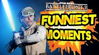 Star Wars Battlefront 2 Funny & Random Moments [FUNTAGE] - Funniest Moments So Far; Season 2