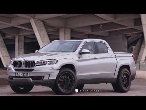 BMW X5 Pickup rendering